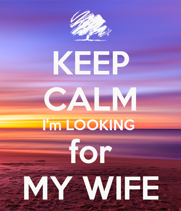 I Am Looking For A Wife